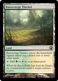 Magic the Gathering Scars of Mirrodin Single Razorverge Thicket UNPLAYED (NM/MT)