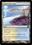Magic the Gathering Scars of Mirrodin Single Seachrome Coast UNPLAYED (NM/MT)