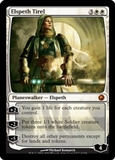 Magic the Gathering Scars of Mirrodin Single Elspeth Tirel - SLIGHT PLAY (SP)