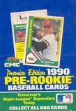 1990 Pre-Rookie (AAA) Premier Edition Baseball Wax Box