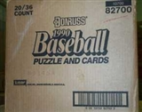 1990 Donruss Baseball Wax 20-Box Case