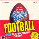 1990 Fleer Football Jumbo Box