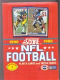 1990 Score Series 1 Football Wax Box