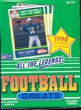 1990 Swell Greats Football Wax Box