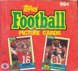 1990 Topps Football Cello Box