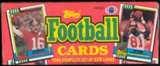 1990 Topps Football Factory Set (Christmas Box)