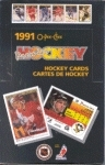 1990/91 O-Pee-Chee Premier Hockey Wax Box