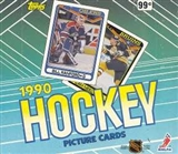 1990/91 Topps Hockey Cello Box