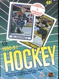 1990/91 O-Pee-Chee Hockey Wax Box