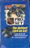1990/91 Pro Set Series 1 Hockey Wax Box