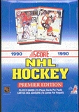 1990/91 Score U.S. Hockey Wax Box