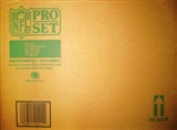 1990 Pro Set Series 1 Football 20 Box Wax Case