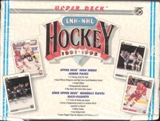 1991/92 Upper Deck English Hi # Hockey Jumbo Box