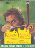 Robin Hood: Prince of Thieves Wax Box (1991 Topps)