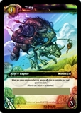 WoW Scourgewar Single Tiny Unscratched Loot Card