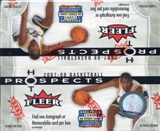 2007/08 Fleer Hot Prospects Basketball Retail 24-Pack Box