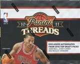 2010/11 Panini Threads Basketball Hobby Box