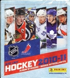 2010/11 Panini Hockey Sticker Box