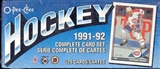 1991/92 O-Pee-Chee Hockey Factory Set