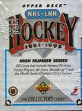 1991/92 Upper Deck English Hi # Hockey Factory Set