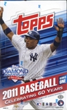 2011 Topps Series 1 Baseball Hobby Box