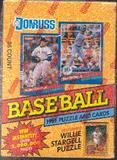 1991 Donruss Series 1 Baseball Wax Box (10 Box Lot)