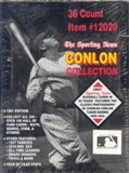 1991 Conlon Collection Baseball Wax Box