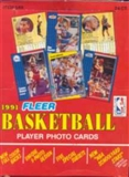 1991/92 Fleer Basketball Rack Box