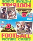 1991 Bowman Football Rack Box