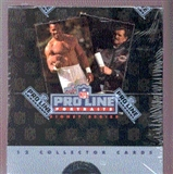 1991 Pro Line Portraits Football Wax Box
