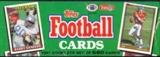 1991 Topps Football Factory Set (Christmas Box)