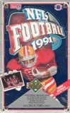 1991 Upper Deck Hi # Football Wax Box