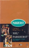 1991/92 Parkhurst U.S. Series 2 Hockey Hobby Box