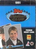 1991/92 Topps Stadium Club Hockey Hobby Box