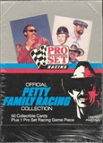 1991 Pro Set Petty Family Racing Collection Racing Box