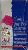 1991 Classic Draft Pick Collection Hobby Box (Bi-Lingual)
