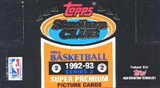 1992/93 Topps Stadium Club Series 2 Basketball Jumbo Box