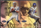 1998 Fleer Showcase Row 3 Football Complete Set (NM-MT Condition)
