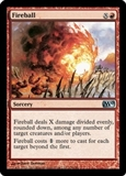 Magic the Gathering 2010 Single Fireball 4x Lot - NEAR MINT (NM)