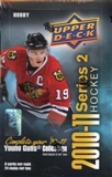 2010/11 Upper Deck Series 2 Hockey Hobby Box