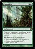 Magic the Gathering Scars of Mirrodin Single Asceticism FOIL - NEAR MINT (NM)