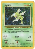 Pokemon Jungle Single 1st Edition Scyther 10/64