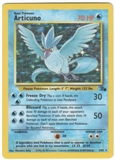 Pokemon Fossil Single Articuno 2/62 - LIGHT PLAY