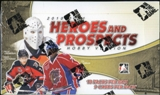 2010/11 In The Game Heroes & Prospects Hockey Hobby Box