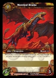 WoW Worldbreaker Single Mottled Drake Unscratched Loot Card