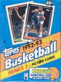 1992/93 Topps Series 2 Basketball Hobby Box
