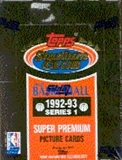 1992/93 Topps Stadium Club Series 1 Basketball Hobby Box