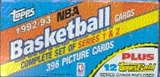 1992/93 Topps Basketball Factory Set