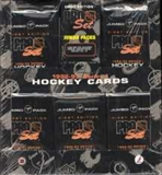 1992/93 Pro Set Series 1 Hockey Jumbo Box