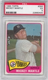 1965 Topps Baseball #350 Mickey Mantle PSA 5 (EX) *0405